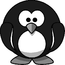 penguin, animal, bird, tux