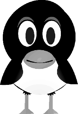 penguin, bird, linux, tux, cute