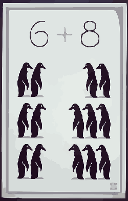 penguins, animal, cartoon