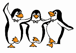 penguins, animals, birds, dance, dancing, greek, happy