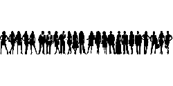 people, man, silhouette, person, human, group, dancing