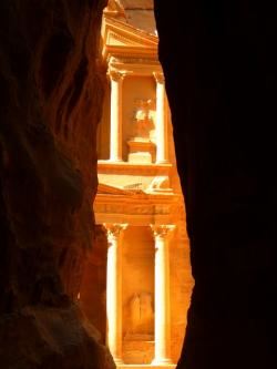petra, siq, jordan, holiday, travel, middle east