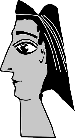 picasso, head, sculpture, woman, abstract, cleopatra
