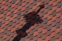 pinnacle, shadow, nave, roof, roofing, fund, background