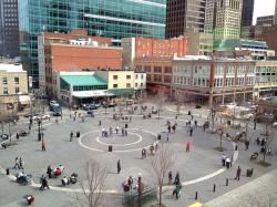 pittsburgh, pennsylvania, city, people, market square