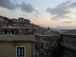 pizzo calabro, landscape, country, sea, sunset