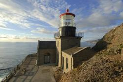 point sur, california, sky, clouds, lighthouse