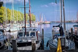port, holland, boot, boats, blue, water, marina