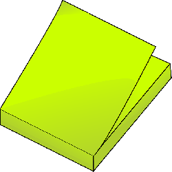 post-its, note, paper, yellow