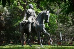 prince, wales, statue