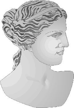 profile, woman, roman, venus, art, statue, greek