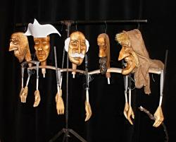 puppets, theatre, stand, art