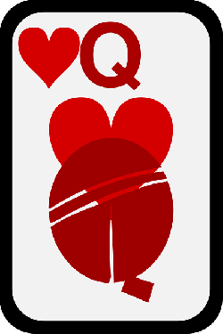 queen, casino, game, cards, play, hearts, poker, bet