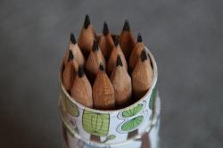 quiver, pen holder, pencils, pointed, school, pen