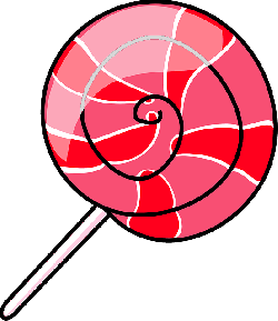 red, food, outline, cartoon, pink, free, pop, ice
