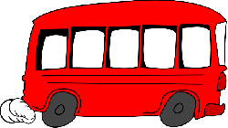 red, school, view, outline, drawing, cartoon, bus
