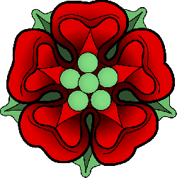 red, yellow, flower, flowers, cartoon, symbols, rose