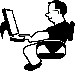 relaxed, office, office job, workstation, man, worker
