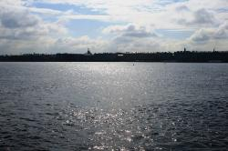 river, neva, great, water, shimmering, shiny, vast