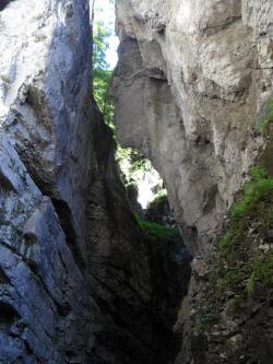 rock, cliff, gorge, landscape
