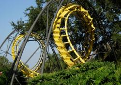roller coaster, ride, florida, year market, action