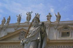 rome, sculptures, strong, italy
