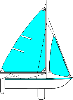 sailing, cartoon, transportation, boating, sailboat