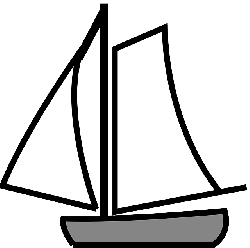sailor, old, black, simple, outline, drawing
