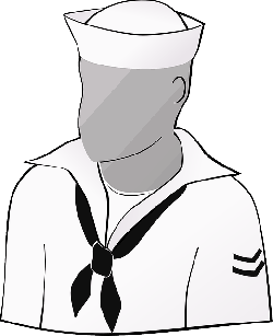 sailor, people, person, human, clothing, dress