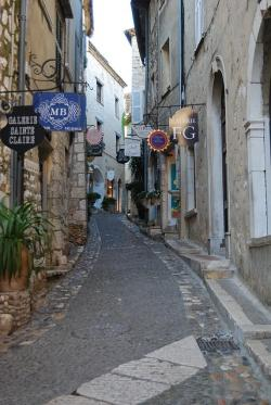 saint paul, france, village, french, road, alley