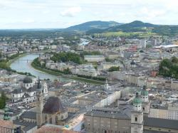 salzburg, old town, city, historic preservation