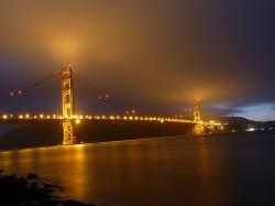 san francisco, golden gate bridge, suspension bridge