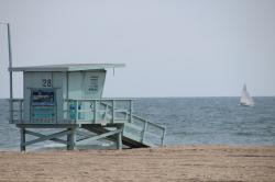 santa monica, venice beach, california, beach, holiday
