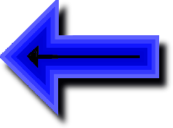 set, left, blue, arrow, pointing, arrows, deep, point