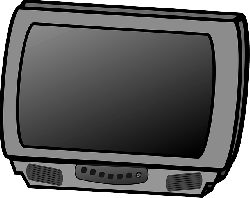 set, screen, flat, small, cartoon, panel, electronics