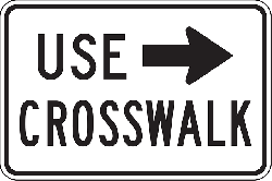 sign, arrow, safety, road, information, warning
