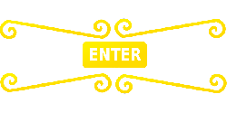 sign, fancy, yellow, enter, rectangle, gate