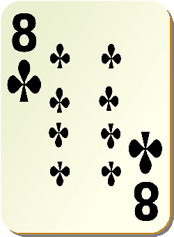 simple, card, recreation, games, eight, cards, playing