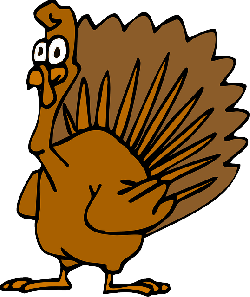 simple, thanksgiving, turkey, cartoon, bird, animal