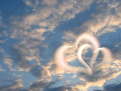 sky, clouds, heart, love, romance, romantic, loyalty