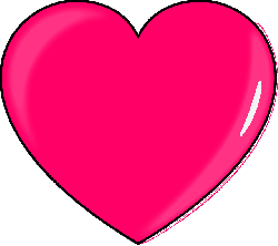 small, outline, cartoon, heart, love, pink, hearts