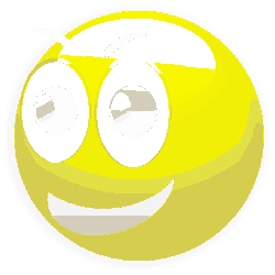 smiley, emoticon, emotion, glossy, yellow, round, happy