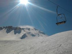solar, snow, the cable car