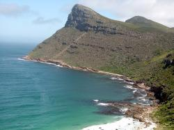 south africa, cape town, beach bay, mountain