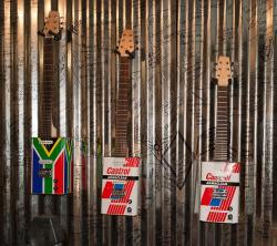 south africa, guitar, tin