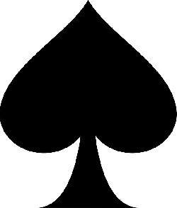 spade, symbol, card, shape, game, playing, shapes