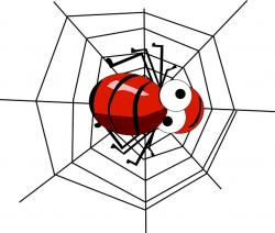 spider, cobweb, network, insect, red, web, insects