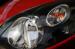 spotlight, renault twingo, red, blinker, light bulb