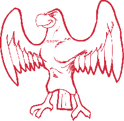 spread, eagle, bird, wings, strong, muscular, joke