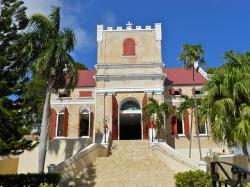 st  thomas, virgin islands, church, building
